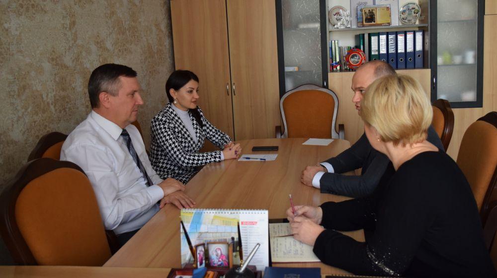 Встреча с Главой администрации города Джанкоя
