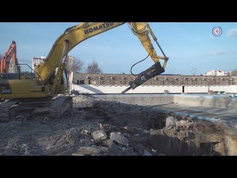 Возрождение спорта: началась реконструкция спорткомплекса имени 200-летия Севастополя (СЮЖЕТ)