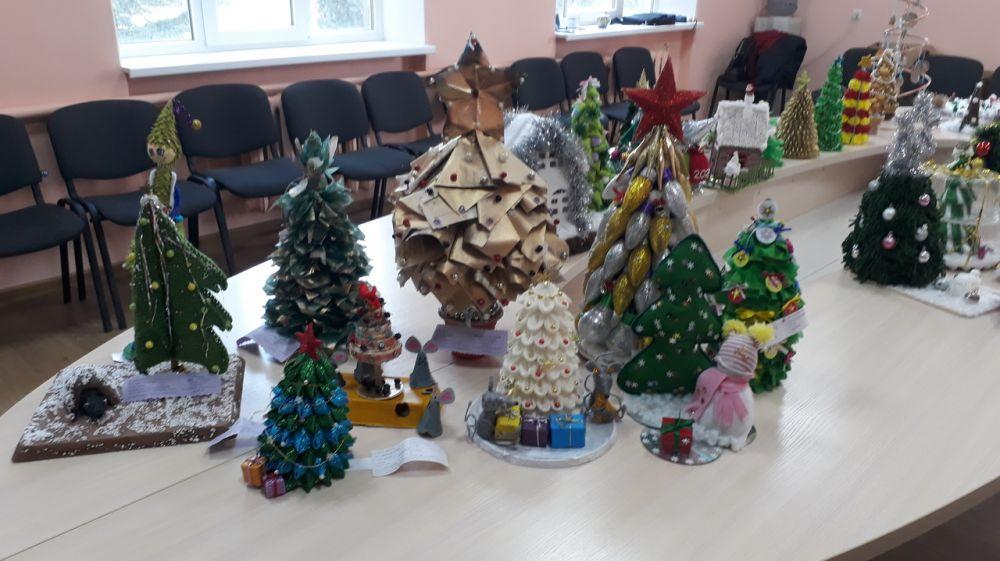 Минприроды Крыма подведены итоги конкурса-выставки «Новогодняя композиция»