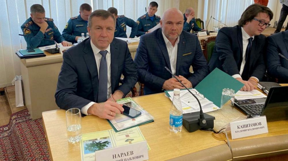 Геннадий Нараев принял участие в совещании по вопросам осуществления субъектами РФ переданных полномочий в области лесных отношений