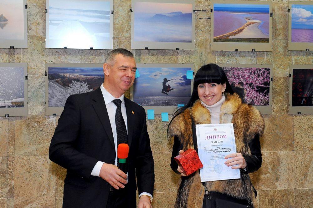 В Ялте наградили лучших фотографов года