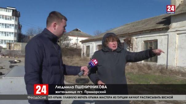 На месте скандальной стройки в Приморском произошёл обвал