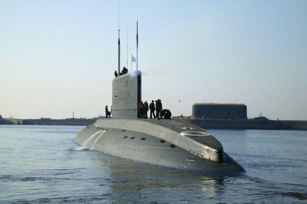 На субмарине «Колпино» Черноморского флота произошло «возгорание»