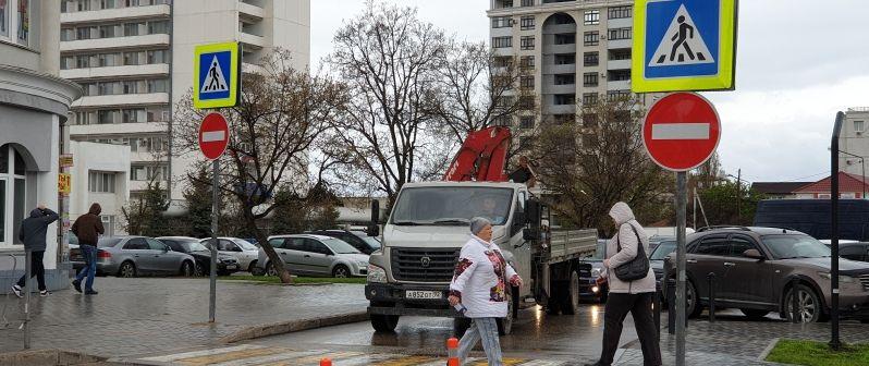 В Севастополе подвели итоги рейда «Пешеходный переход»