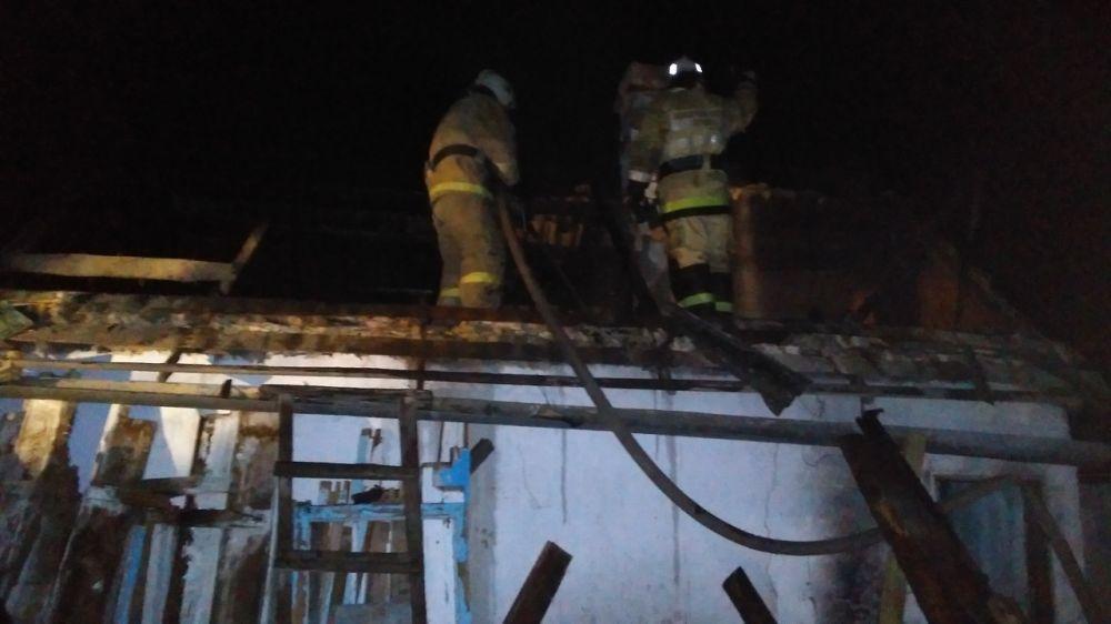 Распространение огня при пожаре в Бахчисарайском районе было локализовано и ликвидировано силами крымских огнеборцев