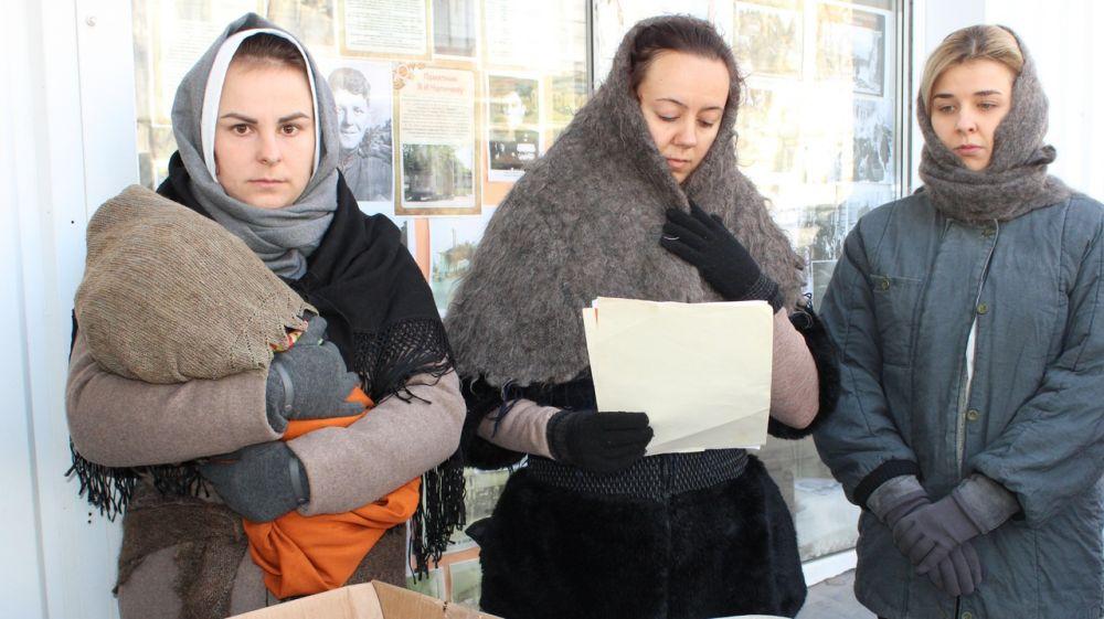 Акция «Блокадный хлеб» в Джанкойском районе