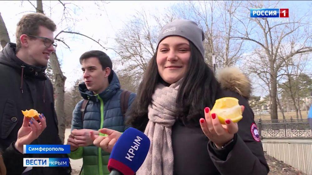 Студенты Симферополя встретили свой праздник увлекательными квестами