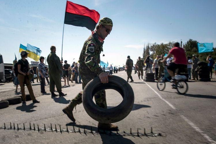 Украина не смогла запустить современный КПП на границе с Крымом