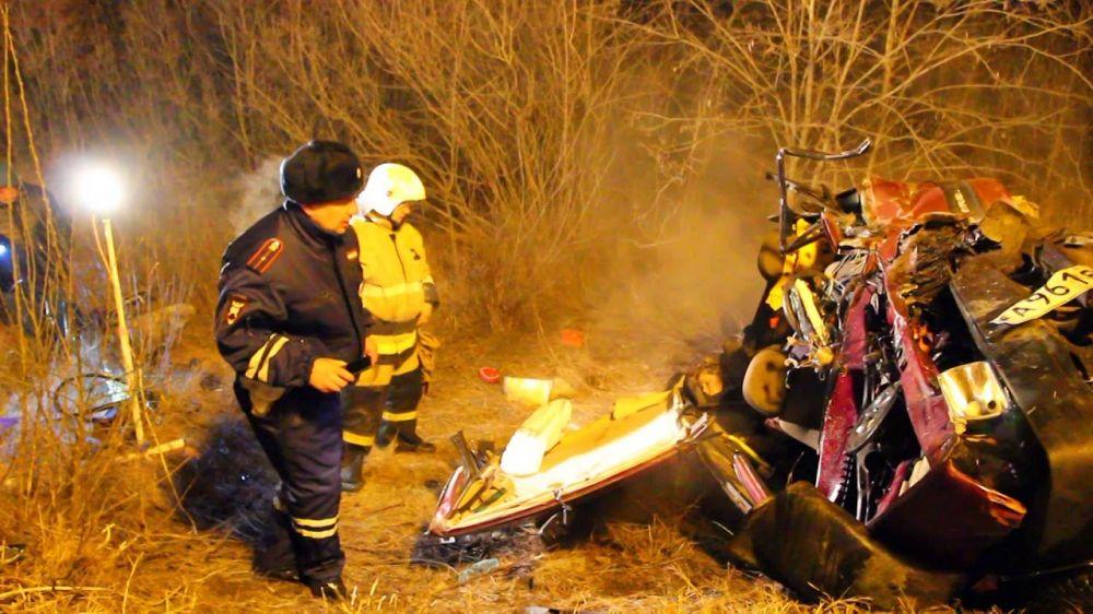 В ДТП на трассе под Симферополем погибло 3 человека