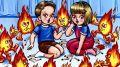 Как научить детей опасности огня