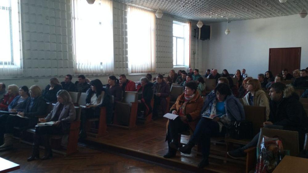 В Госкомводхозе состоялся семинар для водопользователей Крыма