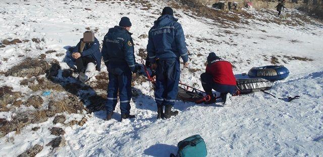 Выходные дни в горах Крыма — травмы, травмы, травмы