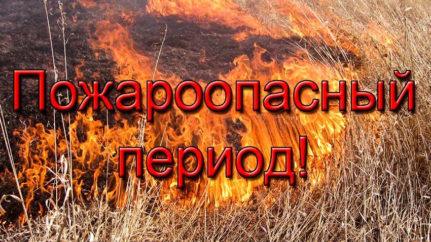 Начало пожароопасного сезона 2020 года