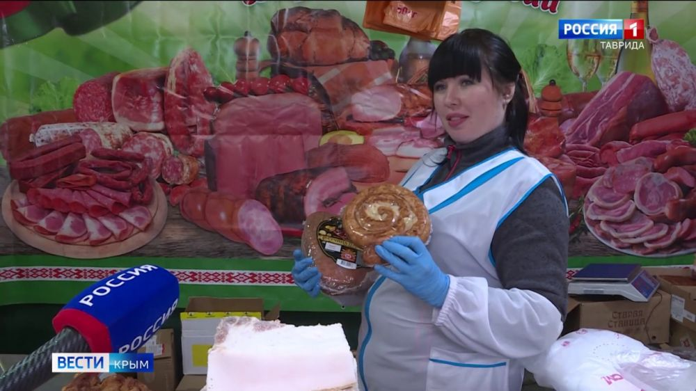 В Крыму прошла ярмарка белорусских продуктов
