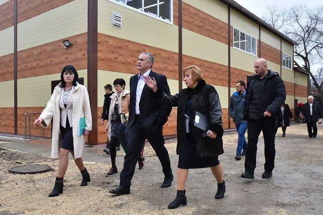 В Симферопольском политехническом колледже ввели в эксплуатацию новый спортивный комплекс