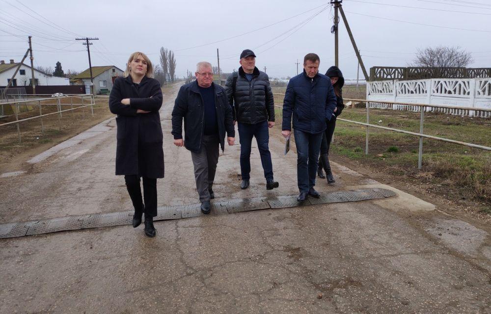Геннадий Нараев посетил геотермальные источники в Джанкойском районе