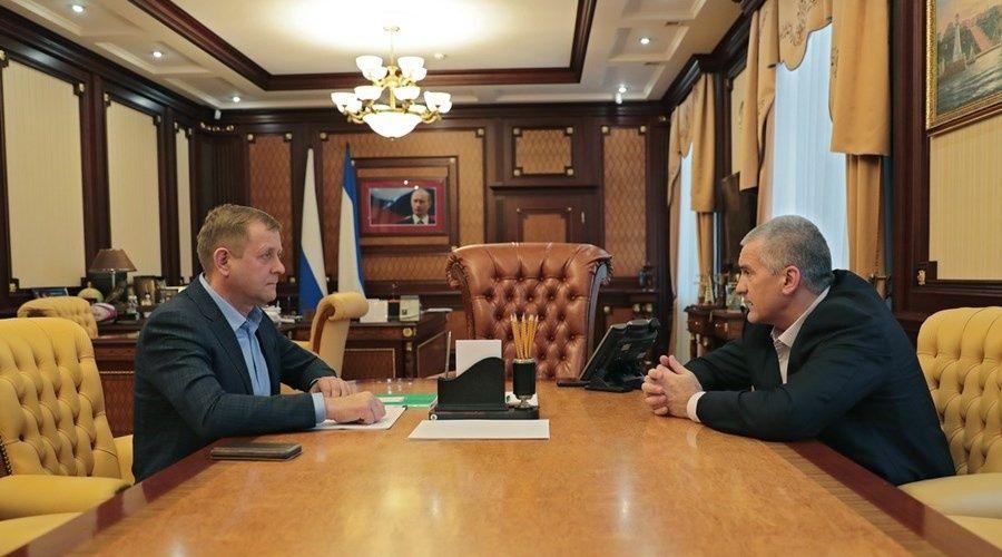 Аксёнов и Зубков окончательно согласовали план устранения нарушений в парке «Тайган»