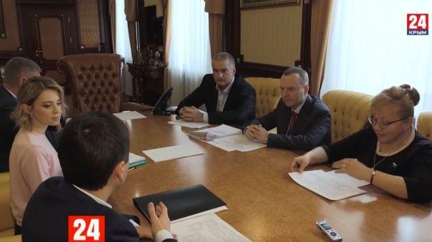 Аксёнов встретился с депутатами Госдумы от Крыма