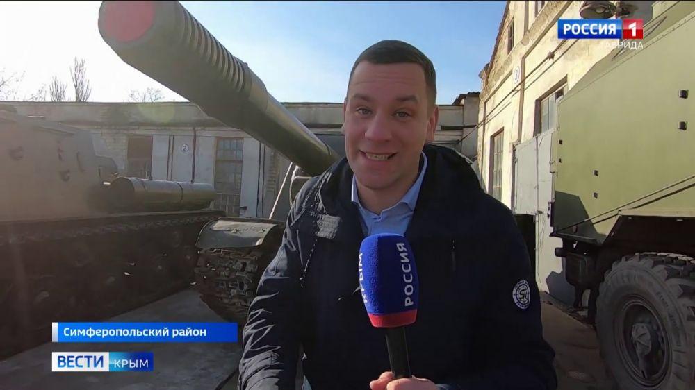 На Параде Победы в Крыму примет участие техника времен войны