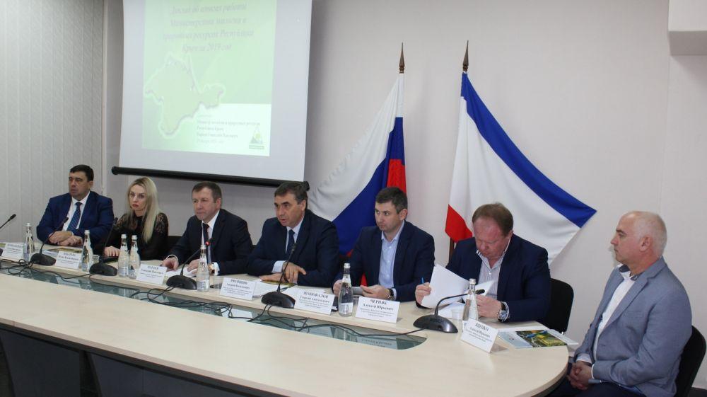 В Минприроды Крыма подведены итоги работы за 2019 год по основным направлениям деятельности