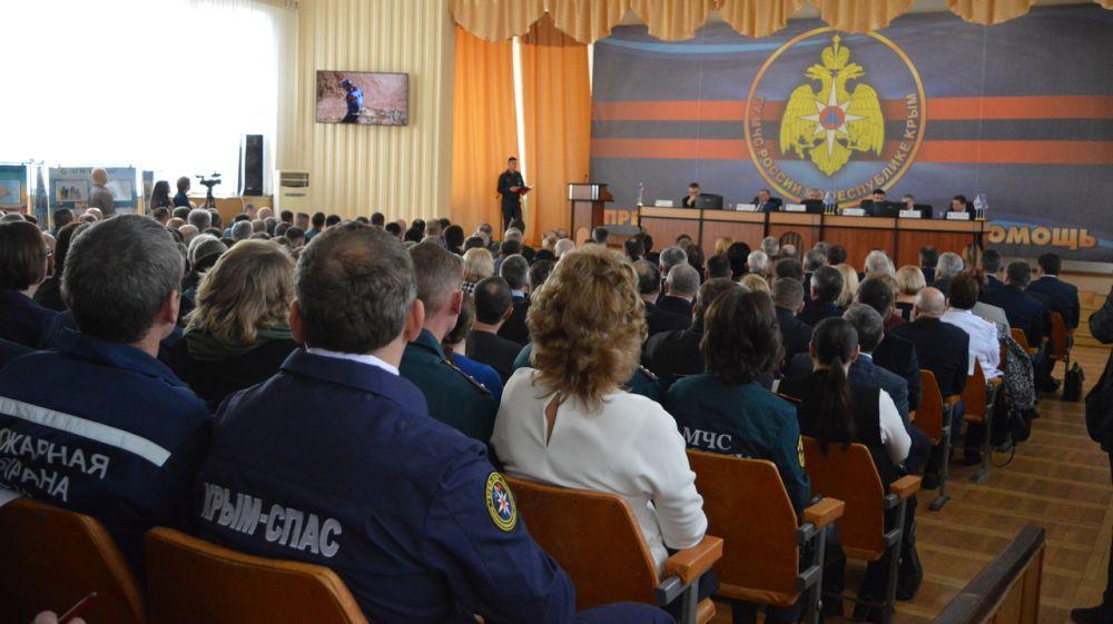 Сергей Шахов: За 2019 год в Республике Крым произошло 2 ЧС муниципального характера