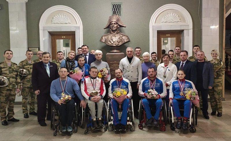Депутаты Заксобрания Севастополя и актив «Добровольца» поздравили спортсменов-паралимпийцев