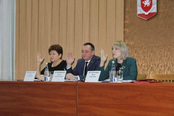 Алла Пономаренко приняла участие в заседаниях Советов территорий Джанкойского и Красногвардейского районов