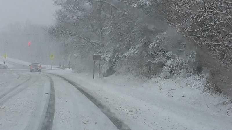 Очень сильный дождь и снег ожидаются в Крыму