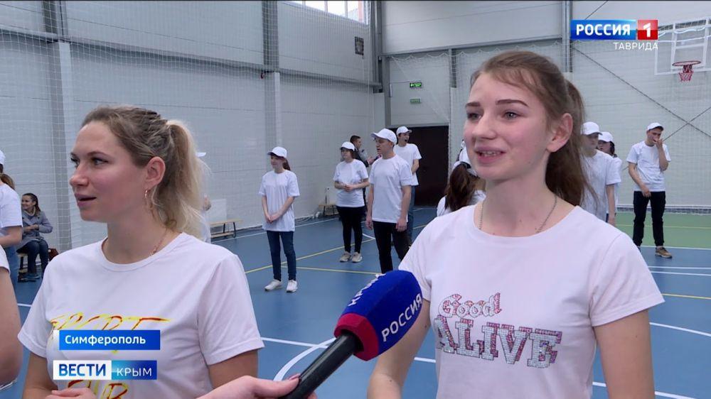 Впереди новые рекорды: студентам Симферополя построили спортзал