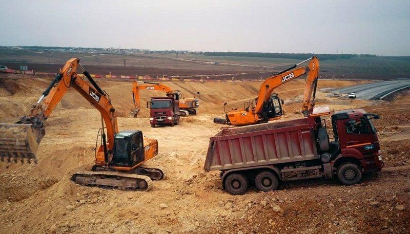 В районе Мазанки началось строительство последнего участка трассы «Таврида» между Керчью и Симферополем