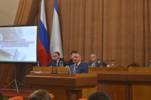 В Крыму подвели итоги попечительской и меценатской деятельности 2019 года