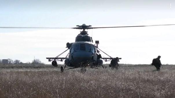 Воздушный десант Черноморского флота уничтожил условного противника в Крыму