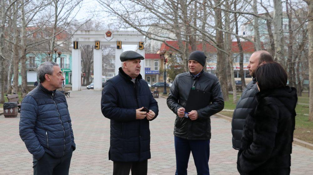 В Комсомольском парке начнутся работы по реконструкции