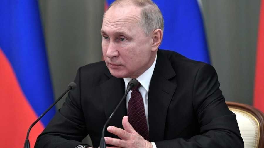 Путин прокомментировал эпидемию коронавируса