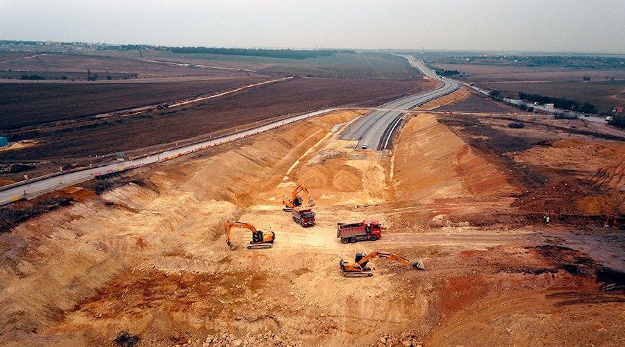 «ВАД» начал строительство основного хода «Тавриды» около Мазанки под Симферополем