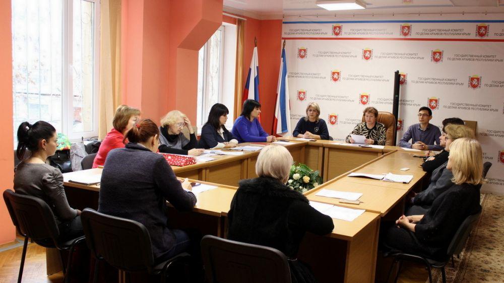 Татьяна Шарова провела заседание Экспертно-проверочной комиссии