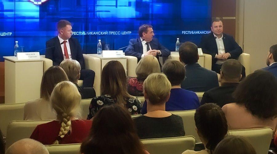 Глава администрации города Саки Афанасьев возглавил мининформ Крыма