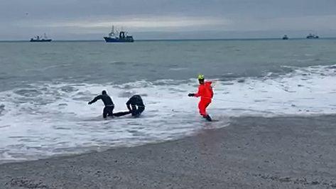 В Ялте погиб человек, которого захлестнуло волной и смыло в море