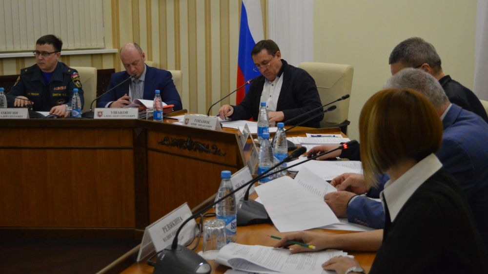 На заседании КЧС был утвержден Комплексный план мероприятий по подготовке неработающего населения Республики Крым в области ГО и защиты от ЧС на 2020 год