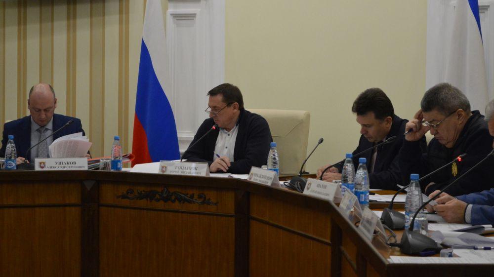 КЧС и ОПБ: Районы (зоны) Республики Крым, подверженные воздействию быстроразвивающихся чрезвычайных ситуаций взяты на контроль Правительства Республики Крым