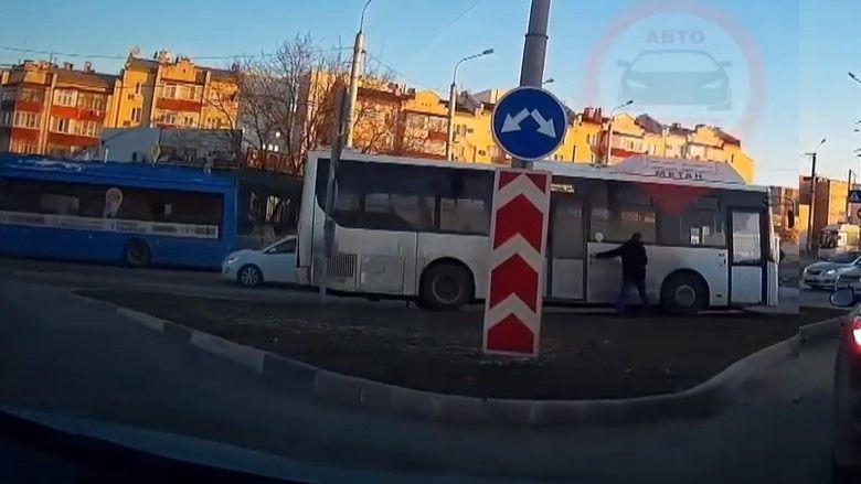 В Севастополе произошло ДТП без участия людей