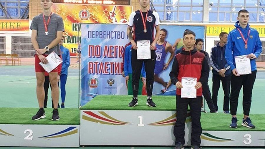 Сакчанин Александр Кадуха – победитель первенства России среди юниоров до 20 лет в прыжках в длину