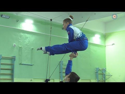 Севастопольские акробаты заняли третье место на первенстве ЮФО (СЮЖЕТ)