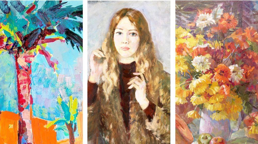 На новой выставке в Симферопольском художественном музее будут экспонироваться произведения крымских художниц