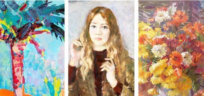 14 февраля в Симферопольском художественном музее — выставка крымских художниц