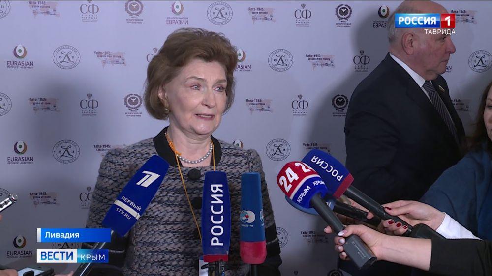 Эксперты из разных стран мира приехали в Крым на годовщину Ялтинской конференции