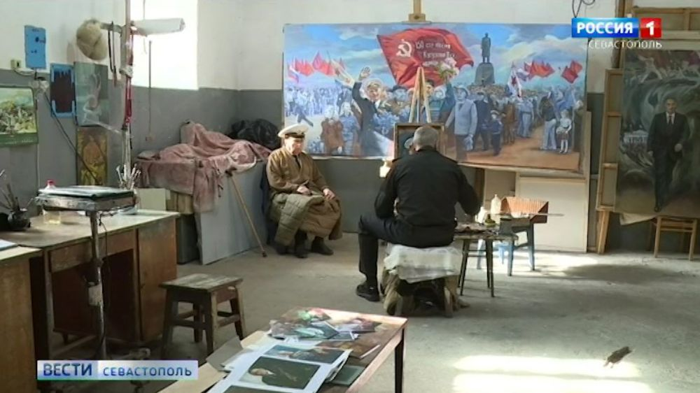 К юбилею Победы севастопольский художник напишет портреты ветеранов
