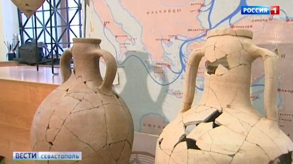 В «Херсонесе Таврическом» готовят экспозицию предметов из античной крепости