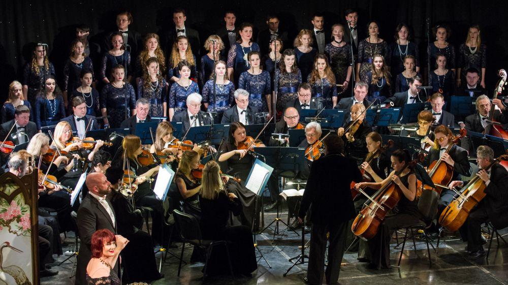 Концертная программа Академического симфонического оркестра «Любовь и смерть дамы с камелиями» представлена в Симферополе, Ялте и Севастополе