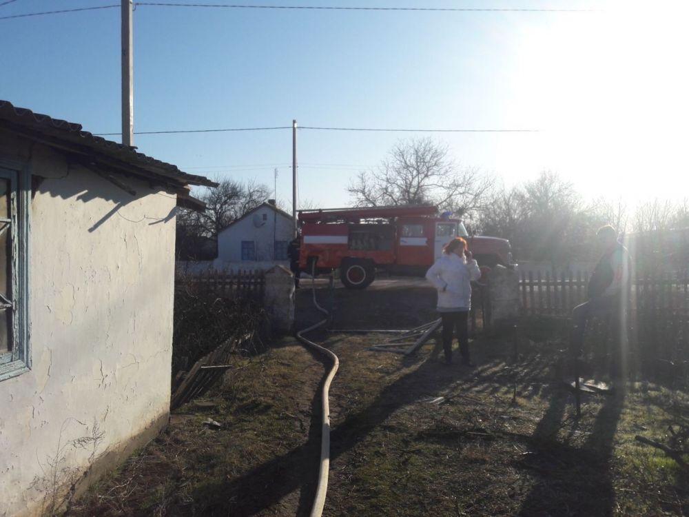 В Сакском районе в сгоревшем доме нашли тело